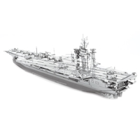 metal earth  Iconx USS theodore roosevelt cvn-71 1