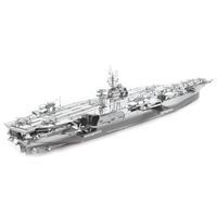 metal earth  Iconx USS theodore roosevelt cvn-71 2