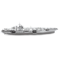 metal earth  Iconx USS theodore roosevelt cvn-71 3