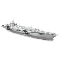 metal earth  Iconx USS theodore roosevelt cvn-71 4