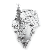 metal earth  Iconx USS theodore roosevelt cvn-71 5