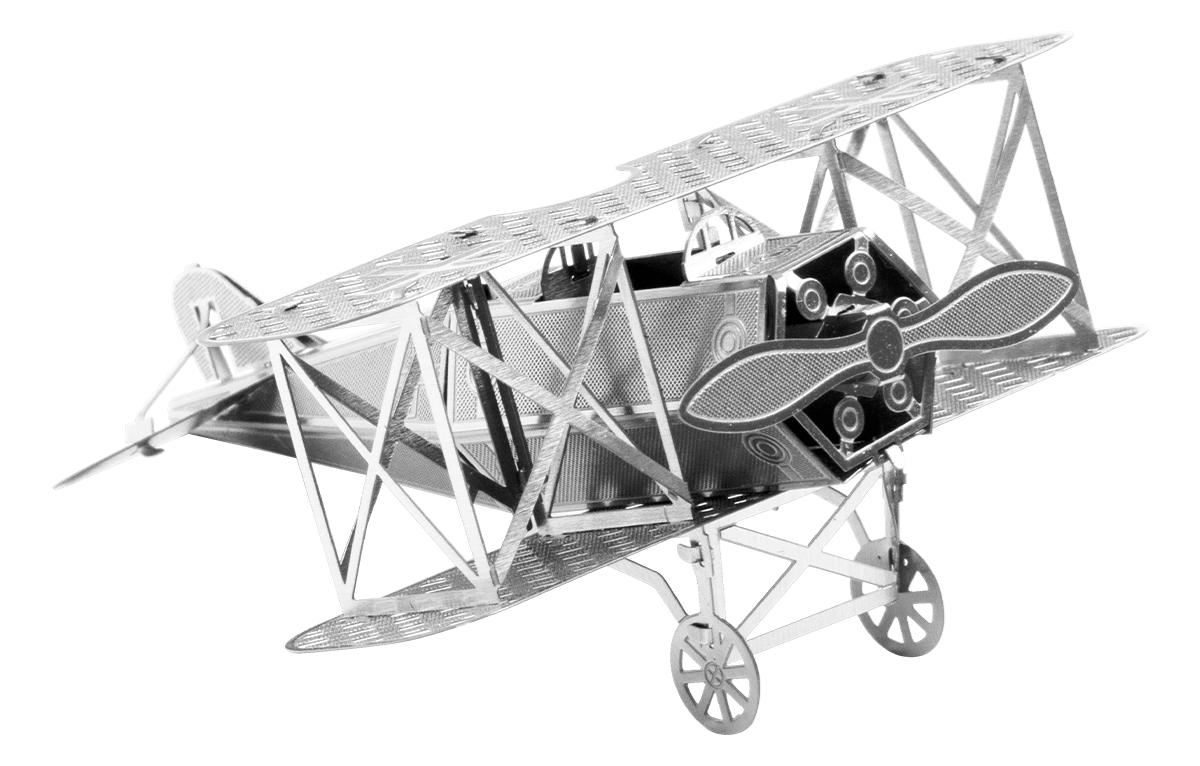 metal earth aviation - Fokker D-VII