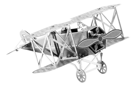 metal earth aviation - Fokker D-VII