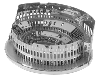 Metal Earth architecture - Roman Colosseum Ruins