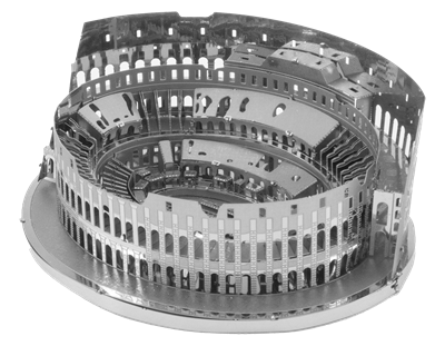 Metal Earth architecture - Roman Colosseum Ruins