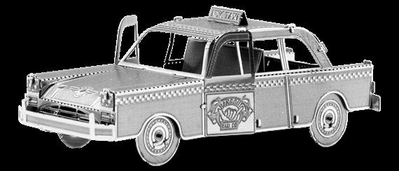 metal earth vehicle checker cab