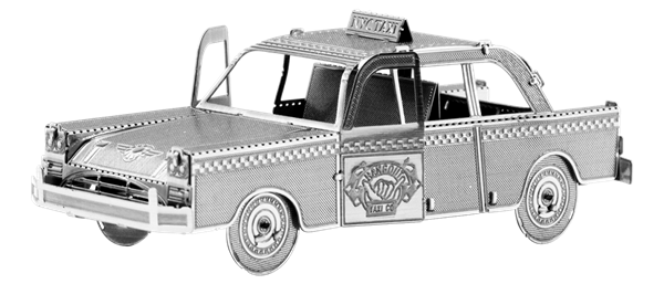 metal earth vehicle checker cab