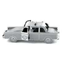 metal earth vehicle checker cab 2