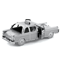 metal earth vehicle checker cab 5