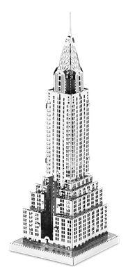 metal earth architecture chrysler building