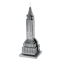 metal earth architecture chrysler building 1