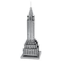 metal earth architecture chrysler building 2