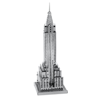 metal earth architecture chrysler building 3