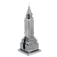 metal earth architecture chrysler building 5