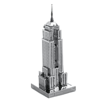 metal earthe  architecture - empire state building 1