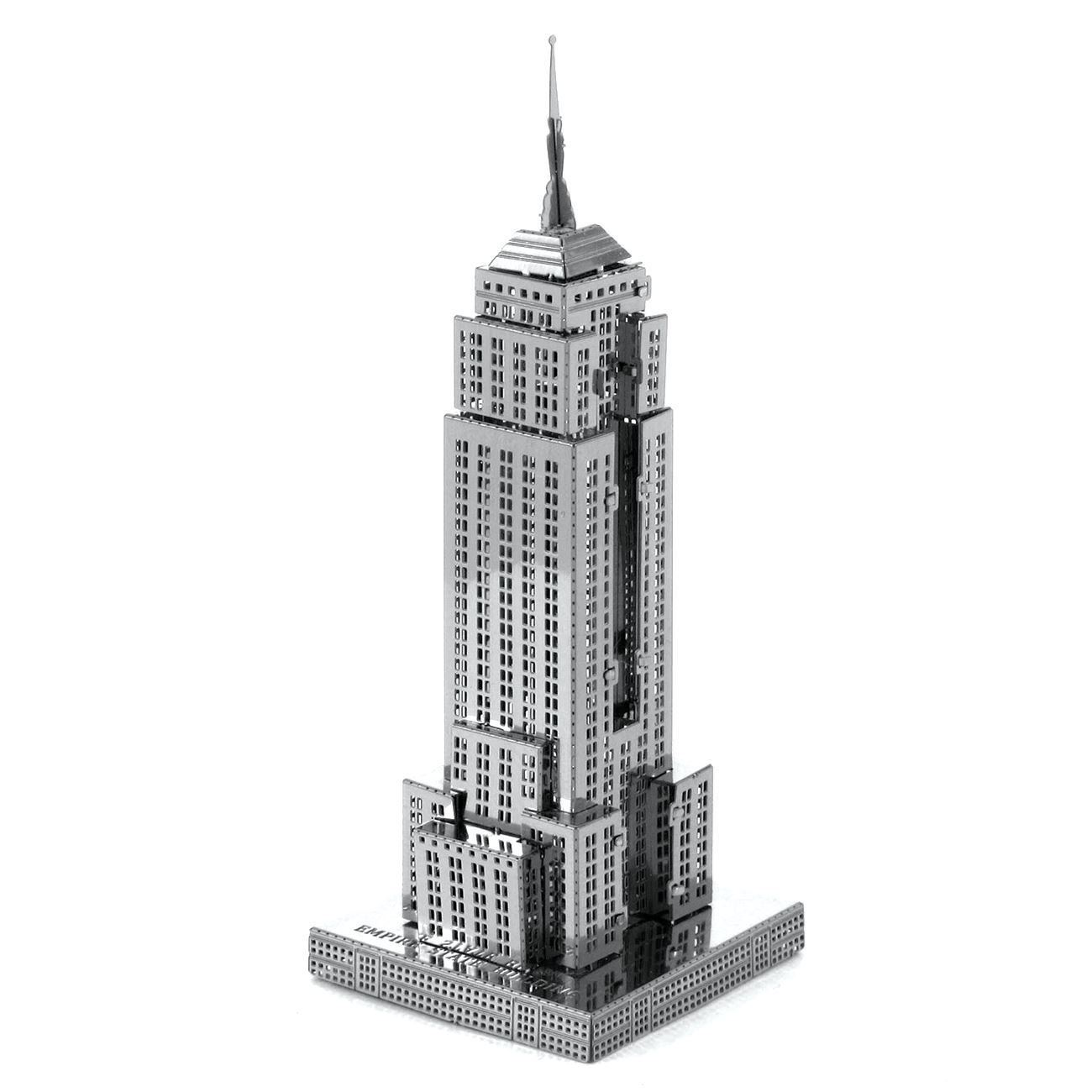 metal earth diy 3d metal model kits metal earth architecture empire state building. Black Bedroom Furniture Sets. Home Design Ideas