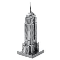 metal earthe  architecture - empire state building 3