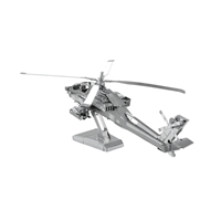 metal earth  boeing - ah - 64 apache 3