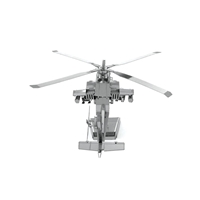 metal earth  boeing - ah - 64 apache 4