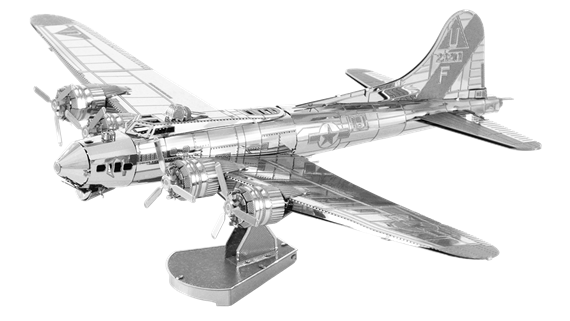metal earth aviation b-17 flying fortress