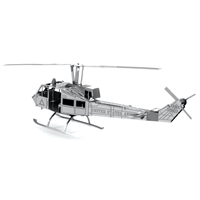 metal earth aviation - huey helicopter 3