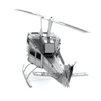 metal earth aviation - huey helicopter 4