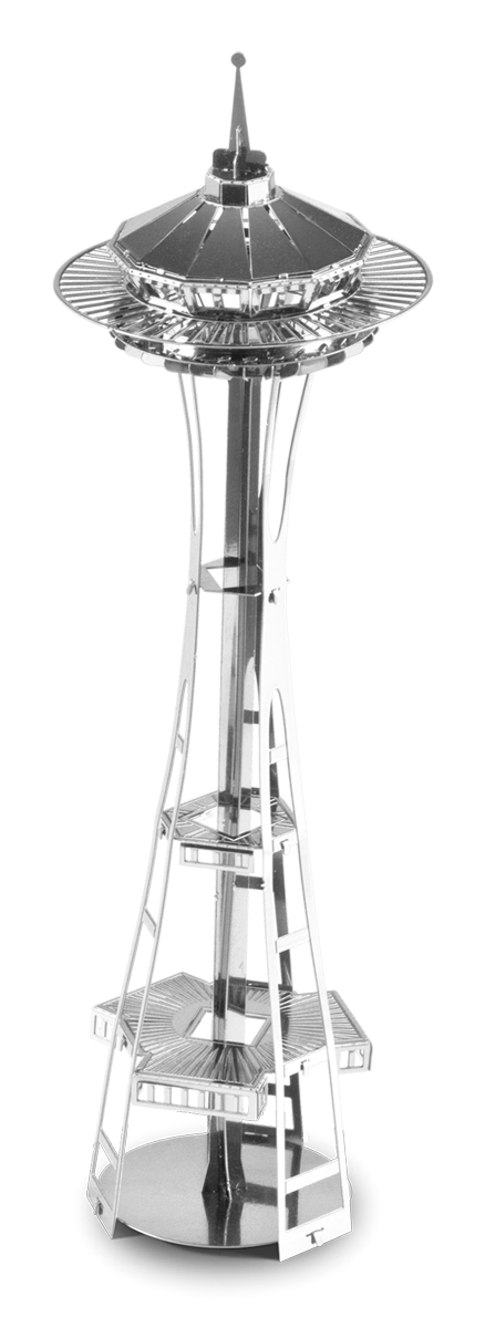 metal earth architecture - space needle