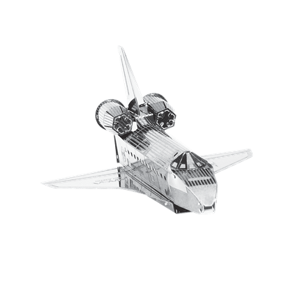 metal earth aviation- space shuttle atlantis