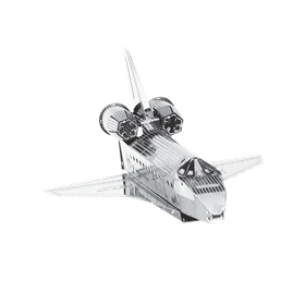 metal earth aviation - nasa shuttle enterprise