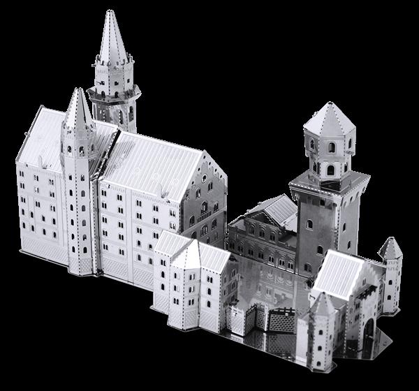 metal earth architecture - neuschwanstein castle