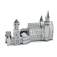 metal earth architecture - neuschwanstein castle 1