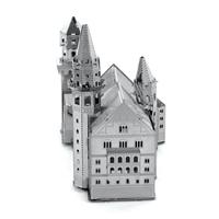 metal earth architecture - neuschwanstein castle 2