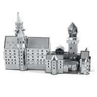 metal earth architecture - neuschwanstein castle 3