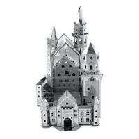 metal earth architecture - neuschwanstein castle 4