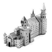 metal earth architecture - neuschwanstein castle 5