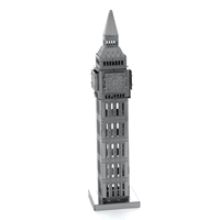 metal earth architecture big ben tower 1