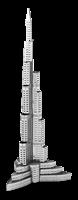 metal earthe  architecture - burj khalifa