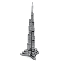 metal earthe  architecture - burj khalifa 1