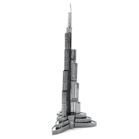 metal earthe  architecture - burj khalifa 3