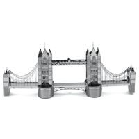 metal earth  architecture - london tower bridge  2