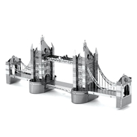 metal earth  architecture - london tower bridge  3