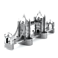metal earth  architecture - london tower bridge  4