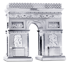 metal earth  architecture - arc de triomphe