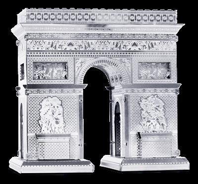 metal earth  architecture - arc de triomphe