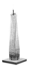 metal earth architecture - one world trade center