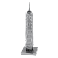 metal earth architecture - one world trade center 1
