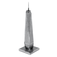 metal earth architecture - one world trade center 2