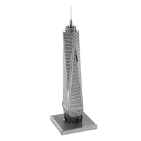 metal earth architecture - one world trade center 3