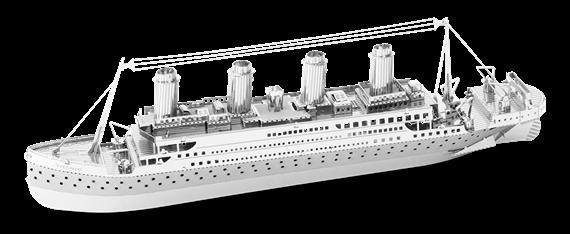 metal earth ships - titanic