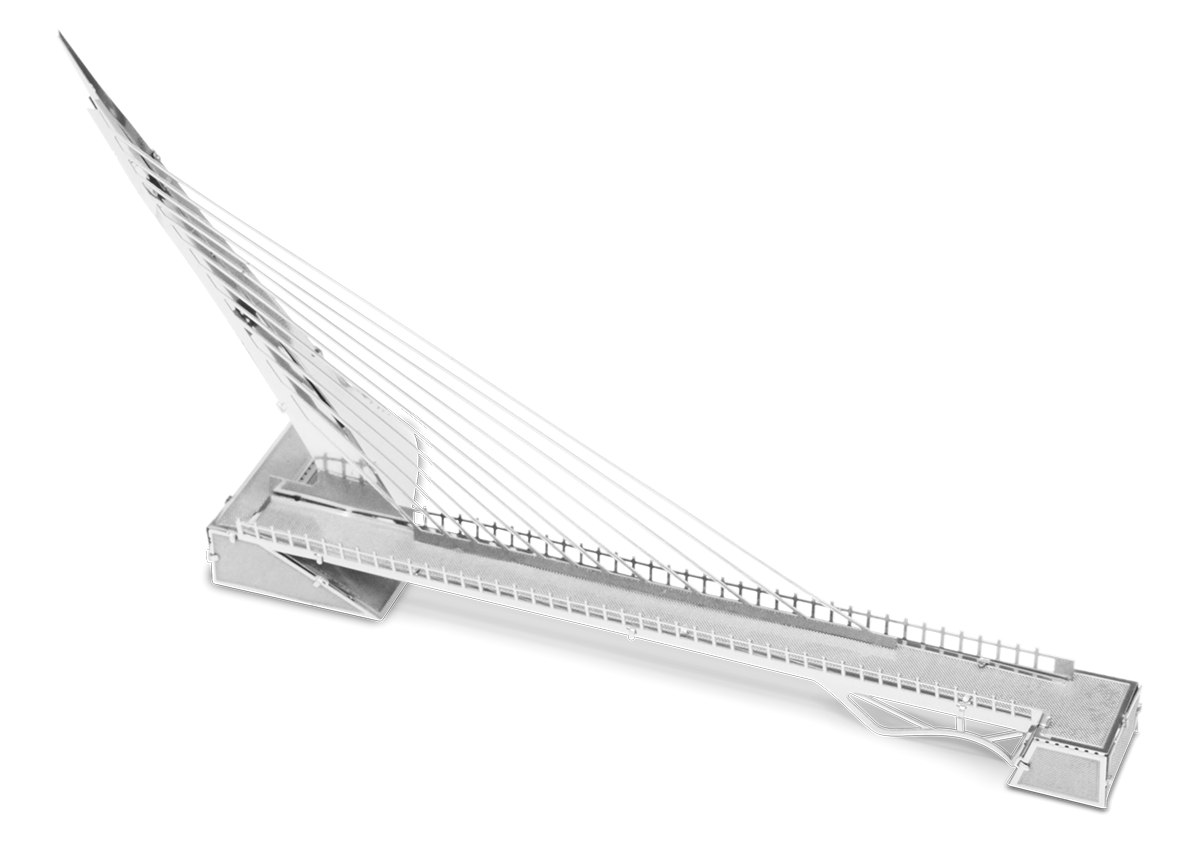 metal earth architecture - sundial bridge